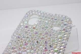 Samsung Galaxy Ace S5830 BLING Diamond Clear AB TPU Medium Soft Back