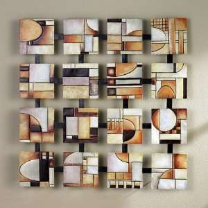Southern Enterprises Abstract Squares Wall Art