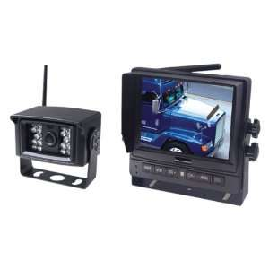 VisionStat Single Camera System with 7 Wireless Monitor Automotive