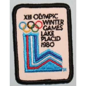 Olympic Winter Games Lake Placid 1980 Embroidered Applique