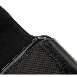 Black Leather Cover Case for Bell Nokia 2730 NAM