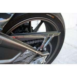 Bmw S1000rr Carbon Fiber Fibre Rear Chain Guard Cover