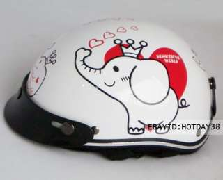 Motorcycle Bicycle Bike Cartoon Children Kids Helmet For Boys & Girls