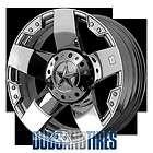 New 22 Inch KMC XD Series ROCKSTAR Wheels CHROME Rims 8X170 ET 44