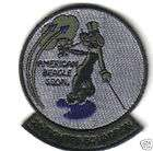 2D FIGHTER SQUADRON USAF PATCH F 15 FIGHTERJET PILOT TYNDALL AFB