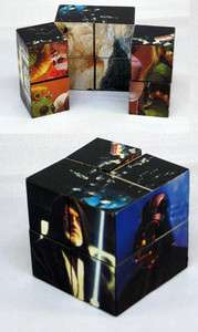 STAR WARS COLLECTABLE PUZZLE CUBE 2x2x2 INCHES TALL FROM TACO BELL