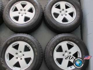 Four 07 11 Jeep Wrangler Factory 18 Wheels Tires OEM Rims 9076 255/70