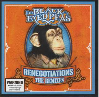 THE BLACK EYED PEAS   RENEGOTIATIONS THE REMIXES CD
