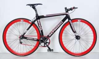 SORRENTO FULL CARBON SINGLE SPEED FIXIE BIKE BICYCLE TRACK 54 cm