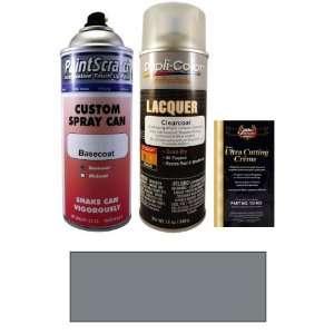 Oz. Custom Silver Metallic Spray Can Paint Kit for 1985 Mazda RX7 (V9