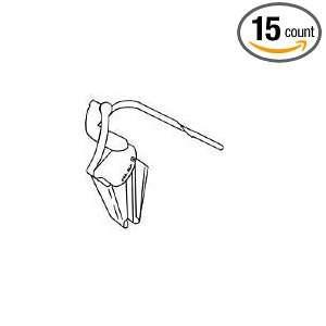 Metal Clip Front/Rear Door Molding (15 count)  Industrial