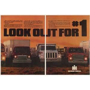 Harvester Medium Diesel Trucks 3 Page Print Ad (52227): Home & Kitchen
