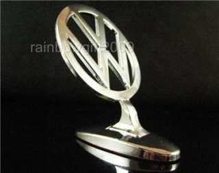 Chrome 3D VW VOLKSWAGEN Car Hood Ornament Emblem