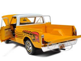1972 CHEVROLET FLEETSIDE PICKUP TRUCK YELLOW 1/18 804902508790