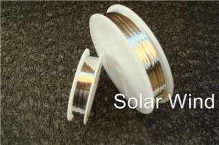 10 x2mm BUS Wire w solder for Solar Panel Cells