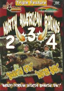 LOT OF 3 WILD HOG HUNTING DVDs Boar Javelina Feral Pig
