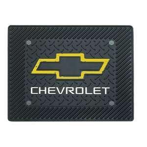 Chevy Chevrolet Bowtie Logo Car Truck SUV Rear Seat Utility Floor Mat
