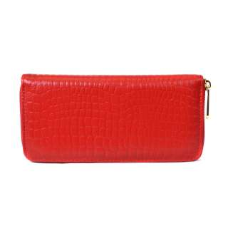 Stone Wrinkle Vintager Genuine Leather Womens Wallet Clutch Checkbook