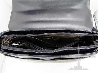 fashion leather messenger bag briefcase shoulder hand bag gift 722