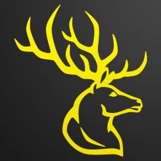 Decal Stickers Deer car window Hunter Hunting W7325