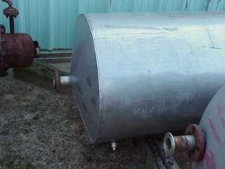 250 260 Gallon Stainless Steel tank Kettle dish bottom