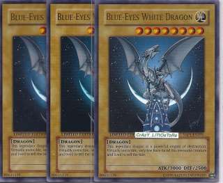 YU GI OH BLUE EYES WHITE DRAGON LIMITED ULTRA RARE N/MINT YAP1