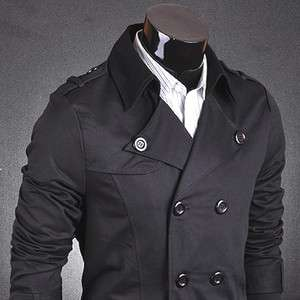 Military Designer Slim Jacket Blazer Coat Shirt Stylish S M L XL 8006