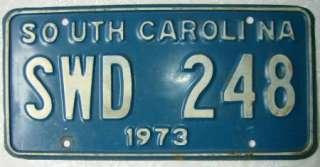 South Carolina License Plates Auto Tag Car Truck Van Automobile