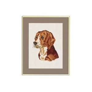 Beagle Counted Cross Stitch Kit: Arts, Crafts & Sewing