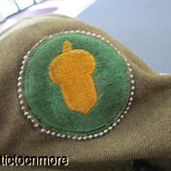 US WWII ARMY 87th INFANTRY DIV MEDICAL CORPS IKE JACKET UNIFORM BRONZE