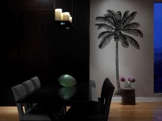 Vinyl Wall Decal Sticker Coconut Palm Tree 6 Feet Tall