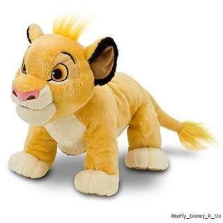 NEW  Exclusive Lion King Simba Plush 11 Doll