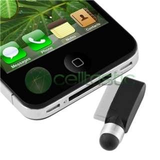 Premium 19 Accessory Leather Bumper Case Bundle Pack For iPhone 4 4G
