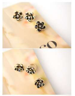 flower ring material alloy plated gold a level czech drilling size