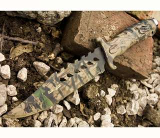 bowie hunting knife works great for any task it features a sharp and