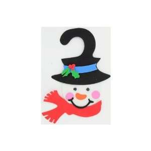 Snowman door hanger craft kit, makes one   Pack of 24