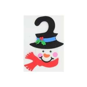 Snowman door hanger craft kit, makes one   Pack of 24