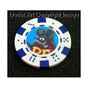 Rat Fink Las Vegas Casino Poker Chip limited edition
