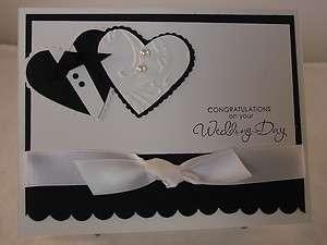 Stampin Up Wedding Day Handmade Card