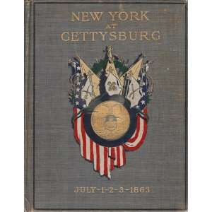 New York at Gettysburg July 1, 2, 3, 1863 complete 3 VOLUME Set Books