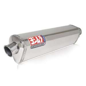 Yoshimura TRS Tri Oval Polished Stainless Steel Street Bike Bolt On