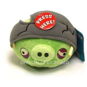 DDI 5 Angry Birds Helmet Pig with Sound & Officially Case Pack 12