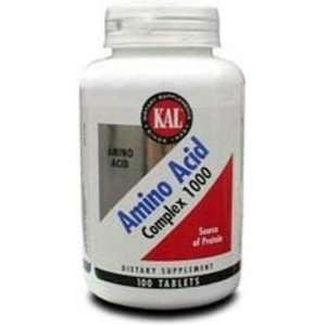 KAL   Aminos, 1000 mg, 100 tablets