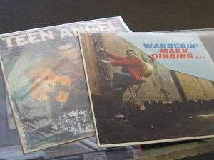 MARK DINNING 2 LP vinyl LOT Wanderin & Teen Angel 098787033021