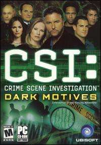 Scene Investigation Dark Motives PC DVD solve TV murder mystery game