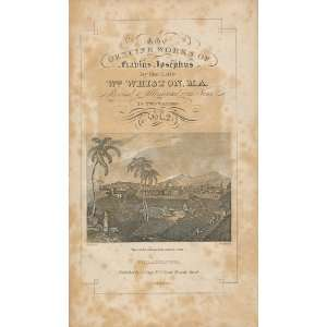 FLAVIUS JOSEPHUS, Vol. II Only of Two. William (Trans) Whiston Books