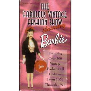 The Fabulous Vintage Fashion Show Starring Barbie: Movies & TV