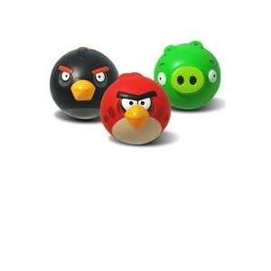 Angry Birds 4 Inch Sculpted Foam Ball   Assorted item, Colors may Vary