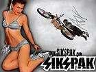 Motocross Banner #5 Flag Sign Quad Dirtbike Moto Suzuki Yamaha