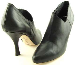 DOLCE VITA BENJI Black Womens Shoes Ankle Boots Side Zipper Booties 6